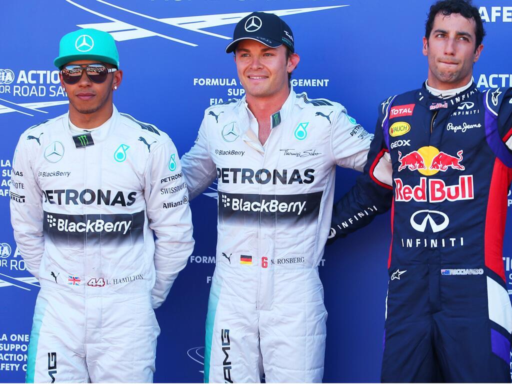 Hamilton, Rosberg