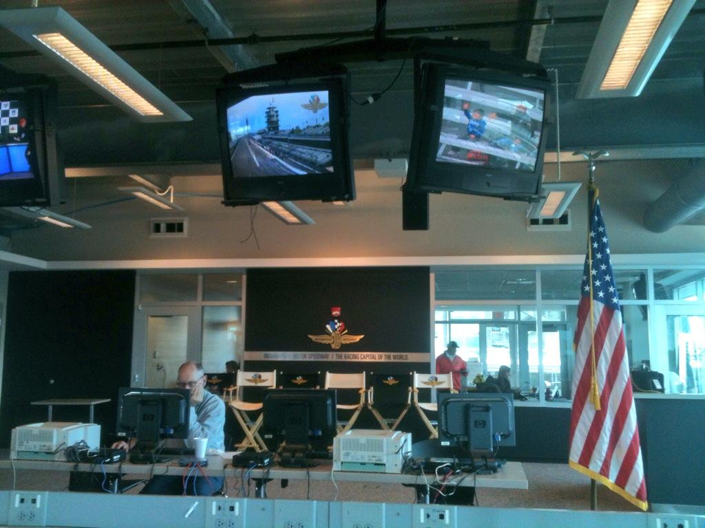 Sala de imprensa Indy