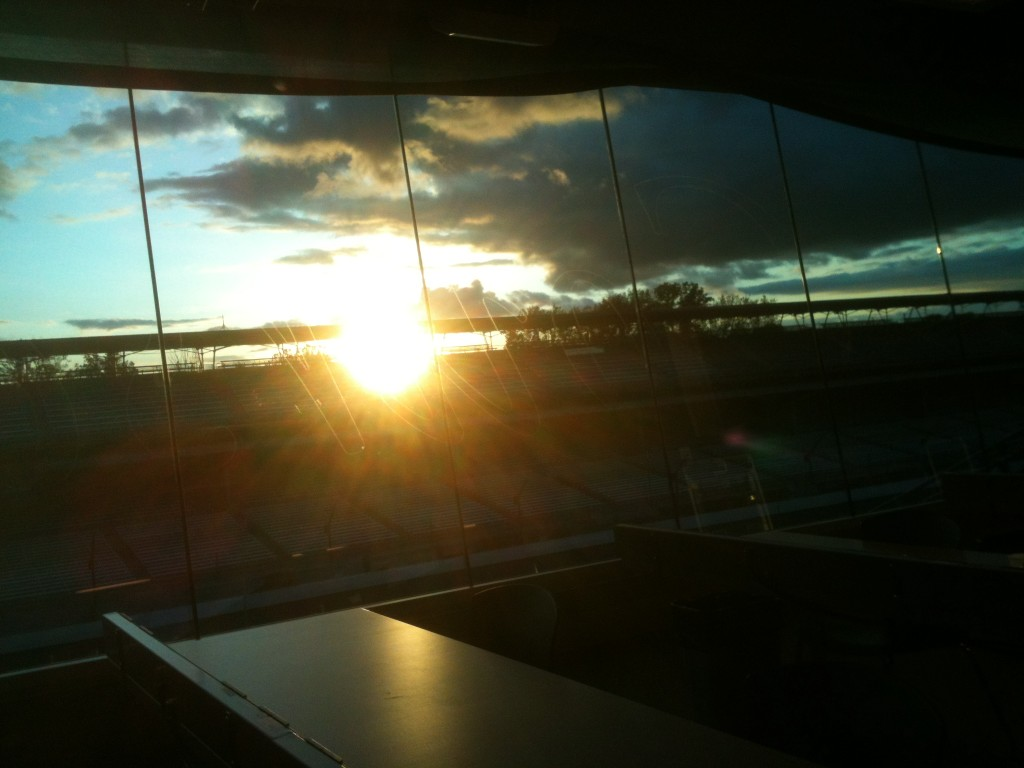 Sol em Indianápolis