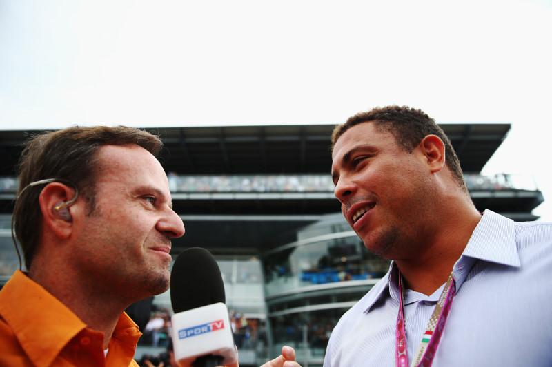 Barrichello e Ronaldo